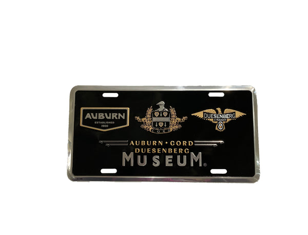 ACDAM Logo License Plate