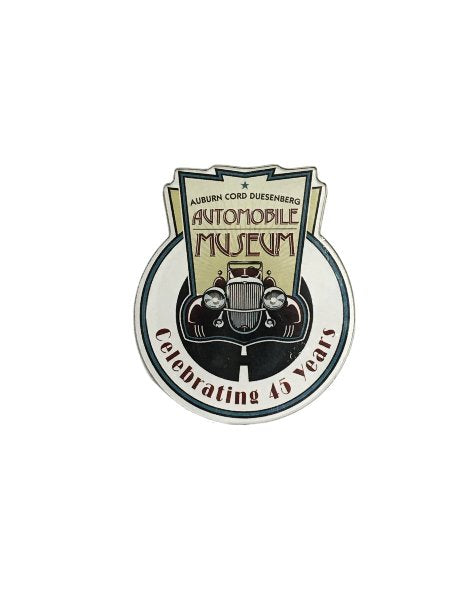 Museum 45th Anniversary Logo Magnet