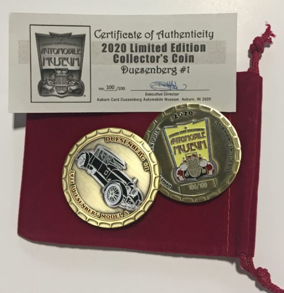 Limited Edition 2020 Collector Coin - only 100 made
