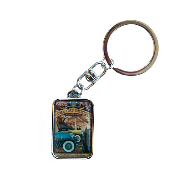 Museum Montage Keychain