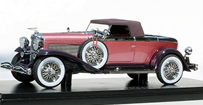 1932 Duesenberg J Violet Limited Edition Model 1:43