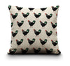 Cushion Cover - Black Chicken