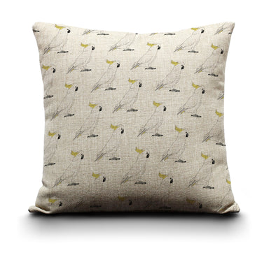 Cushion Cover - Sulphur Crested Cockatoo
