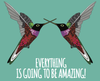 Everything is Amazing Card - Red Parka