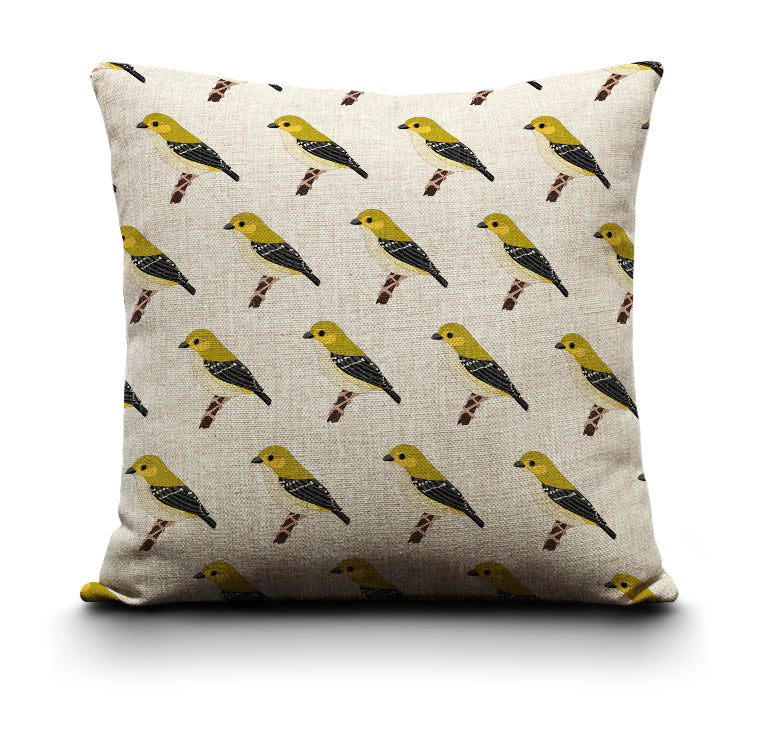 RP - Cushion Cover - Forty Spotted Pardalote