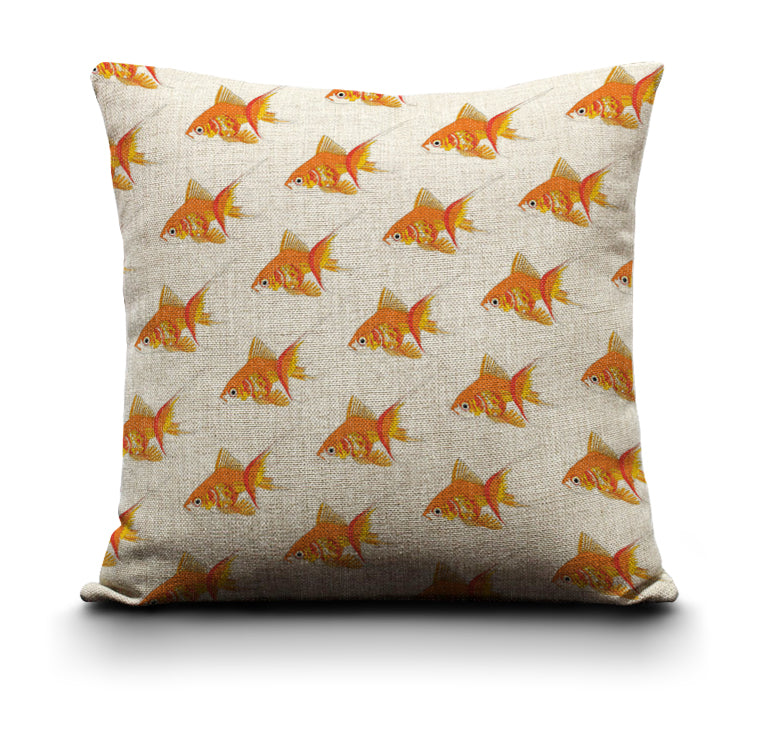 RP - Cushion Cover - Goldfish