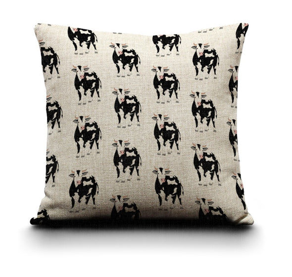 Cushion Cover - Cow