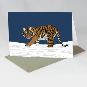 Endangered Animal Card - Amur Tiger