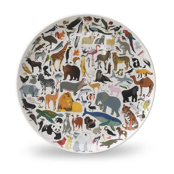 Melamine Plate - 101 Collective Nouns