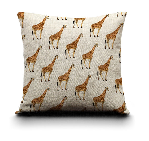 Cushion Cover - Giraffe