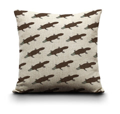RP - Cushion Cover - Platypuses