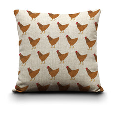 RP - Cushion Cover - Chicken (Red)