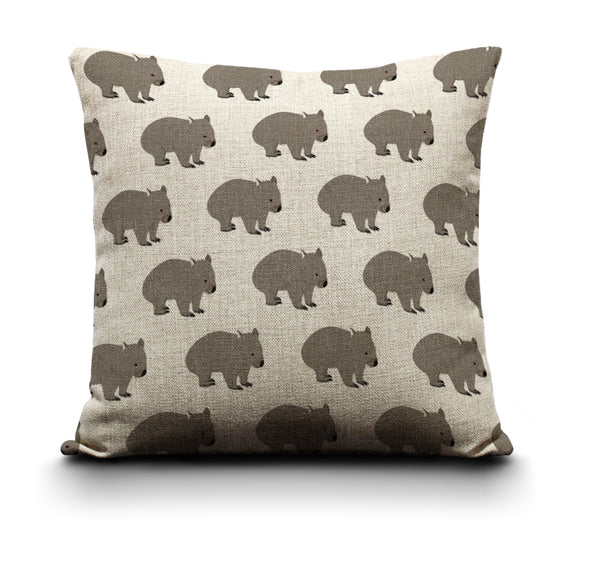 Cushion Cover - Wombat