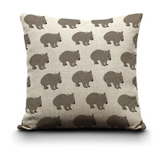 RP - Cushion Cover - Wombats