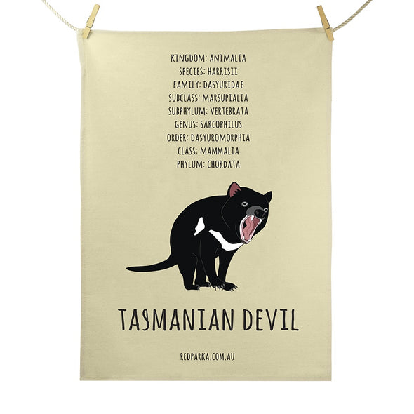 Tasmanian Devil Tea Towel