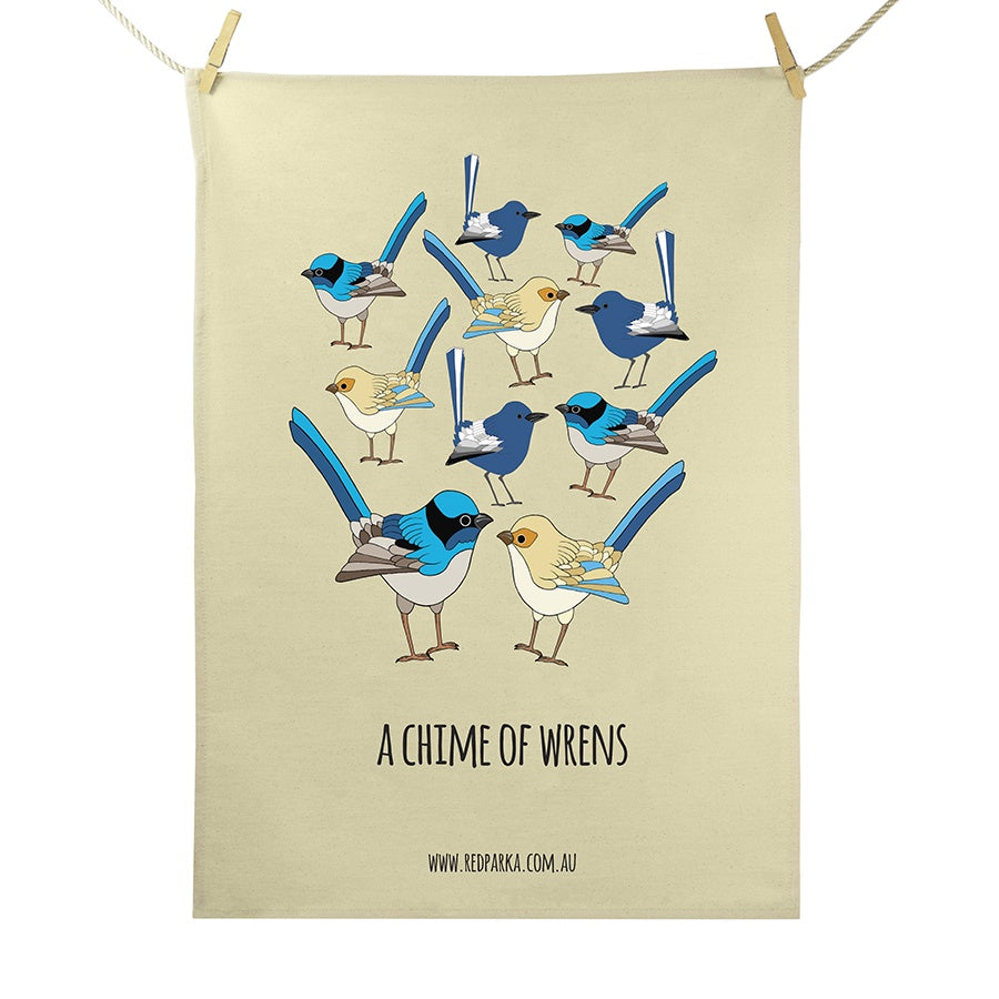 RP - Chime of Wrens Tea Towel