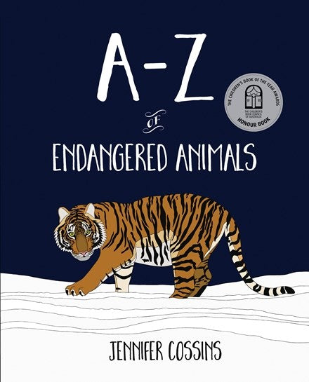A-Z of Endangered Animals  Book - Jennifer Cossins
