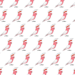 RP - Cushion Cover - Major Mitchell Cockatoo (Pink)