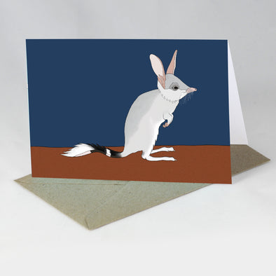 Australian Animal Card - Bilby