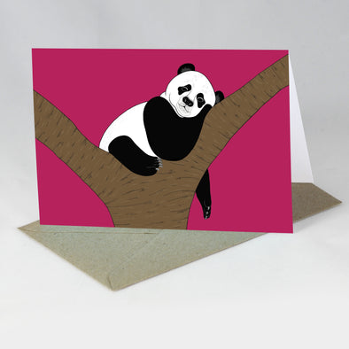 Endangered Animal Card - Giant Panda
