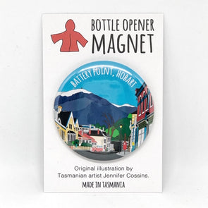 Battery Point Bottle Opener Magnet