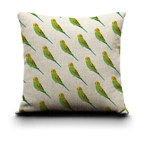 Cushion Cover - Budgerigar