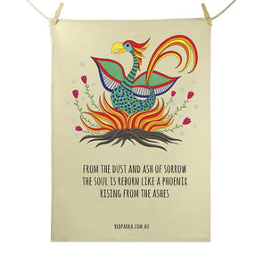 Tea Towel - Phoenix Rising