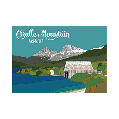 Postcard - Cradle Mountain