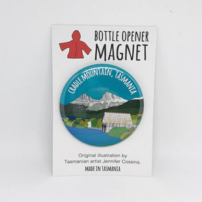 Cradle Mountain Bottle Opener Magnet