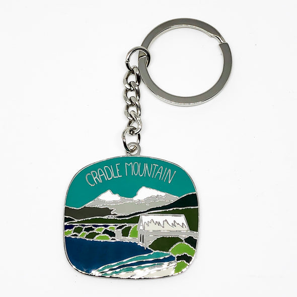 Cradle Mountain Keyring