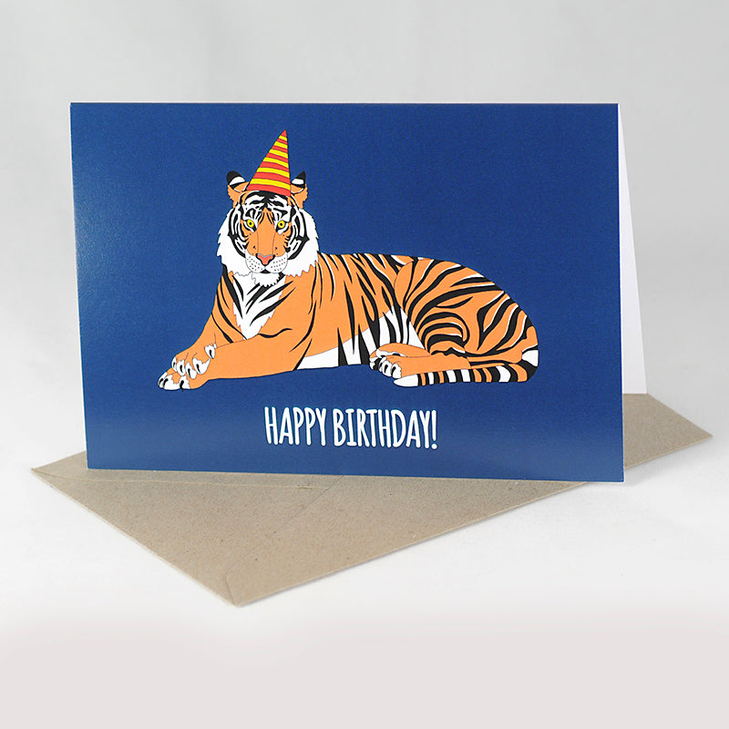 RP - Tiger Birthday Card