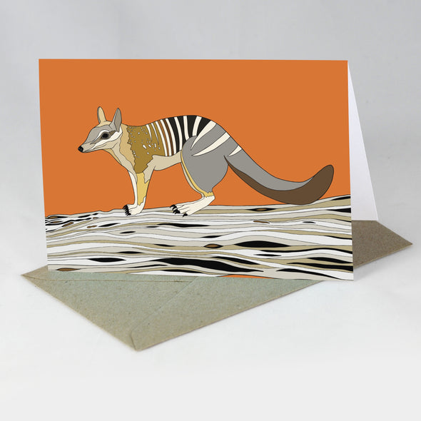 Endangered Animal Card - Numbat