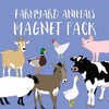 Farmyard Animals Magnet Pack