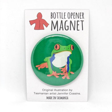 Frog Bottle Opener Magnet