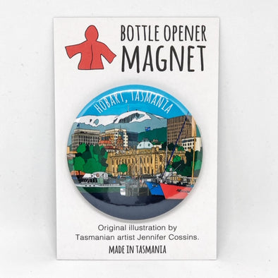 Hobart Bottle Opener Magnet