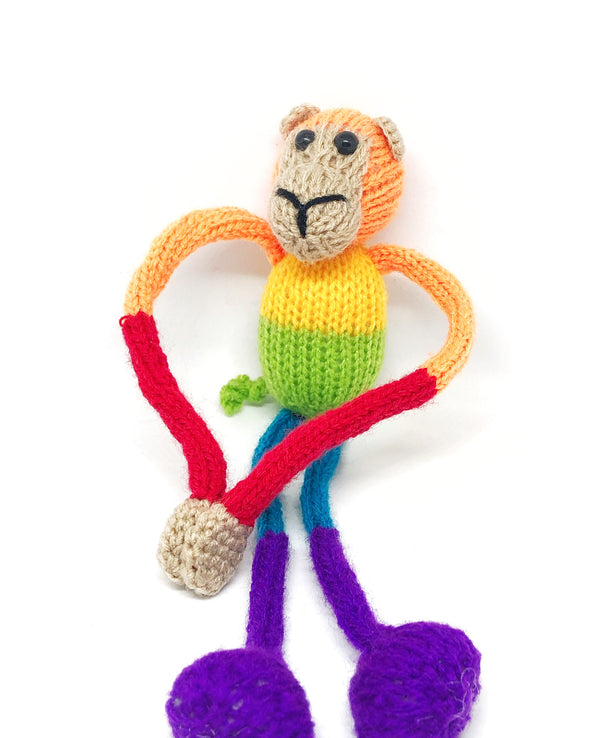 Happily Made - Rainbow Monkey