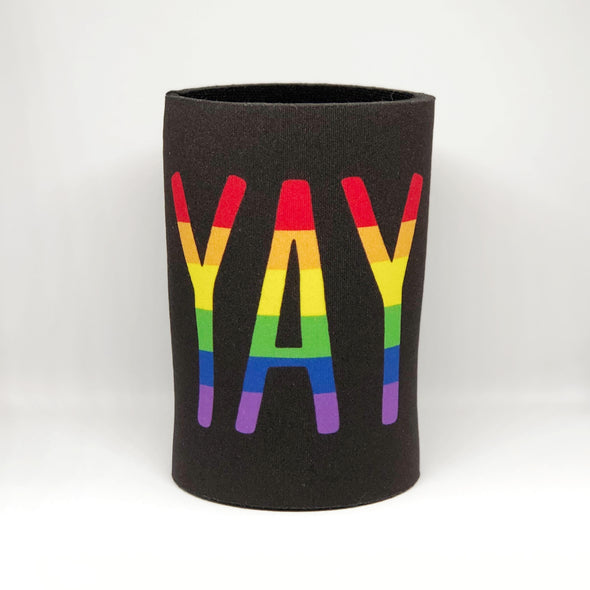 Yay Gay Stubby Holder