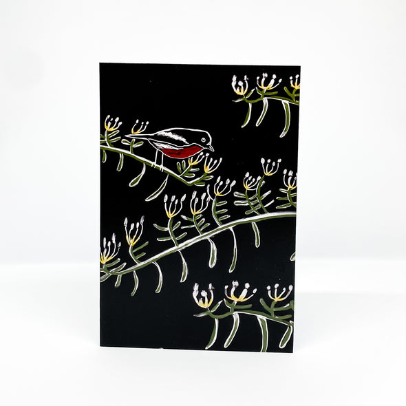 Arching Everlastingbush - TJ Finch Card