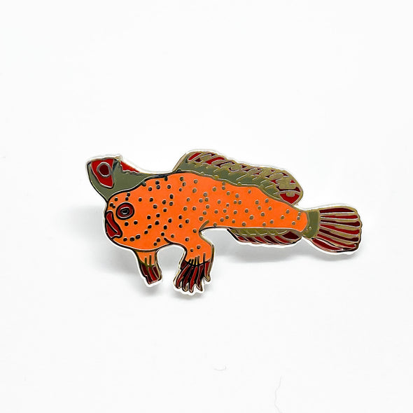 Red Handfish Pin