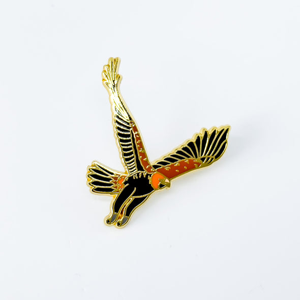 Wedgetailed Eagle pin