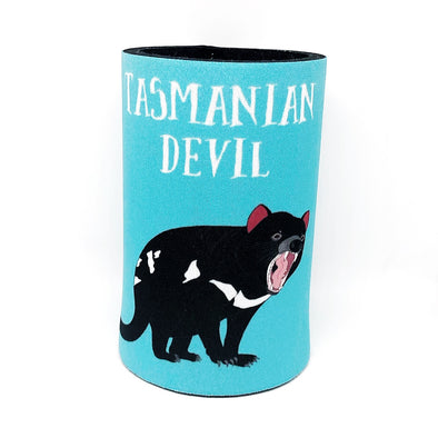 Stubby Holder Devil Blue