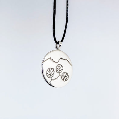 Cradle Mountain and Nothofagus gunnii Pendant (TJF)
