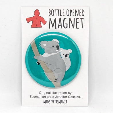 Koala Bottle Opener Magnet