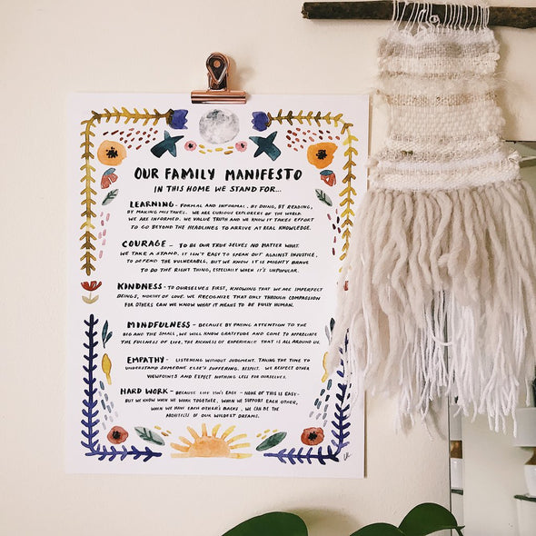 Little Truths - Family Manifesto