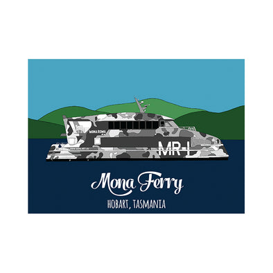 Postcard - Mona Ferry