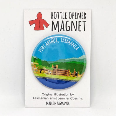 Port Arthur Bottle Opener Magnet