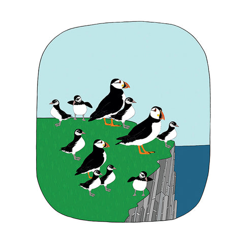 RP - Baby Puffin Art Print
