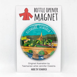 Richmond Bottle Opener Magnet