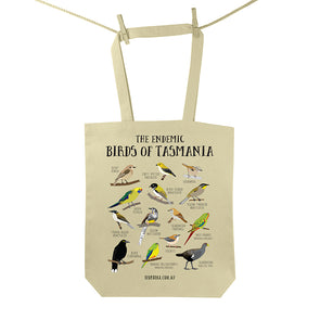 Endemic Birds of Tasmania Tote Bag