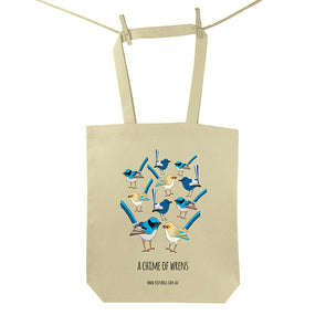 Chime of Wrens Tote Bag